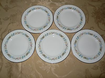 Royal Doulton Pastorale H5002 5 BREAD PLATES   10 PLATES AVAILABLE