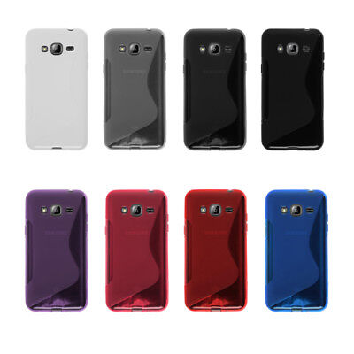 S-Line TPU Silicone Case Skin Cover For Samsung Galaxy J1 J2 J3 J5 J7 2016 2015