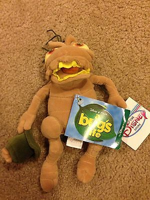 "Disney Store Exclusive A Bug's Life P.t. Flea 8"" Plush Bean Bag Toy New"