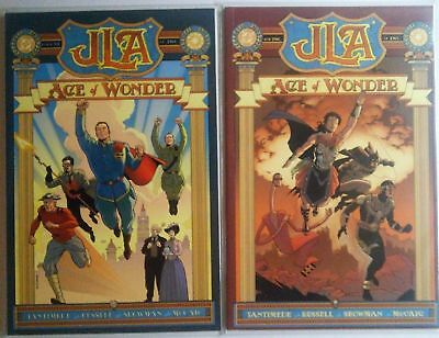 JLA Age of Wonder #1 #2 DC Comic 1st Print 2003 New NM