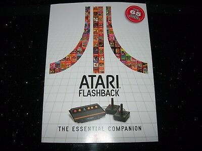 ATARI FLASHBACK : The Essential Companion - Brand NEW / CHEAPEST Listed - 2600