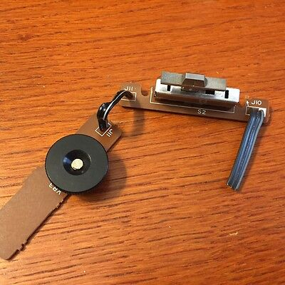 Technics SL-B30 Turntable Parts - Speed Selector Switch w/ Pitch Control