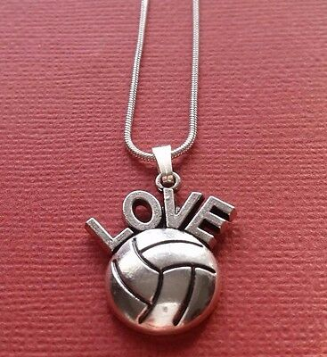 Love Netball Necklace Show you love Netball Charm Pendant and Chain