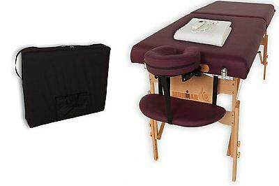 Massage Table Reiki Portable Heating Pad Carry Case Professional Student Home