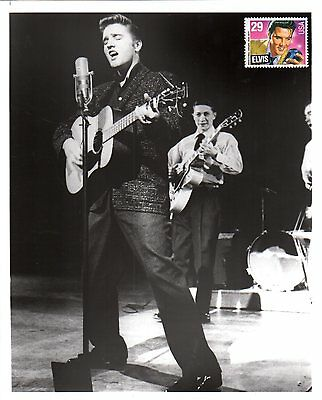 US 1959 ELVIS PRESLEY REAL PHOTOGRAPHS IN CONCERT IN MEMPHIS, TENN. 8x10
