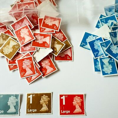 3 (from £2.10) OR 100 STAMPS FROM £23.99 SMALL LETTER 1st 2nd first second class