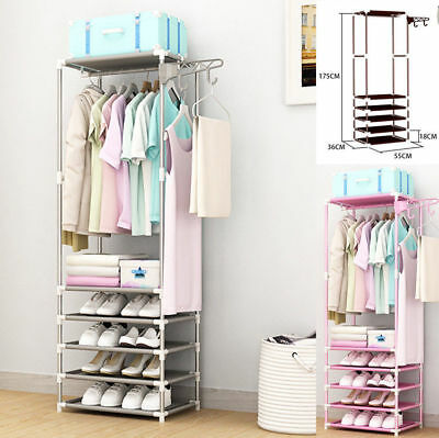 Metal Multi-purpose Coat Clothes Hat Shoe Rack Tidy Orgainser Umbrella Stand