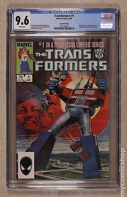 Transformers (Marvel) 2nd Printing #1 1984 CGC 9.6 1497199013