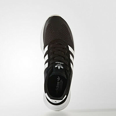 info for 042f0 48694 Women Adidas BB5323 flashback Running shoes black white sneakers