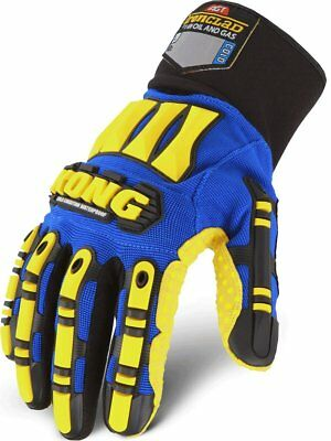 Cold Weather Waterproof Insulated Gloves Work Men Medium Breathable Oilproof NEW