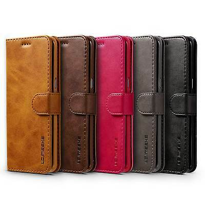 Luxury Ultra Thin Leather Flip Wallet Case Cover For Samsung galaxy S8 S7 S7edge