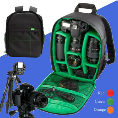 Waterproof Camera Backpack Bag Case for DSLR and Lens for Canon Nikon Sony US