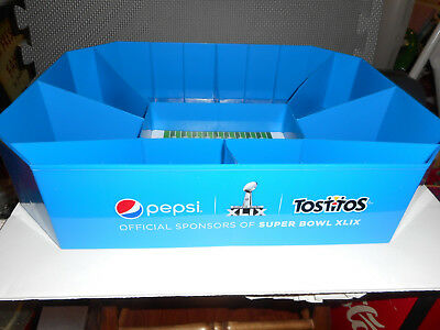 Pepsi Tostitos Snack Stadium Serving Tray Collectible 2015 Super Bowl XLIX NEW
