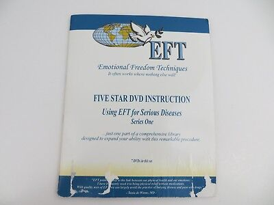 EFT Emotional Freedom Techniques 7 DVD set Serious Diseases Series One loc334