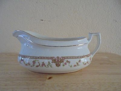 Vintage China Gravy Boat Edwin M Knowles China Co. Vitreous