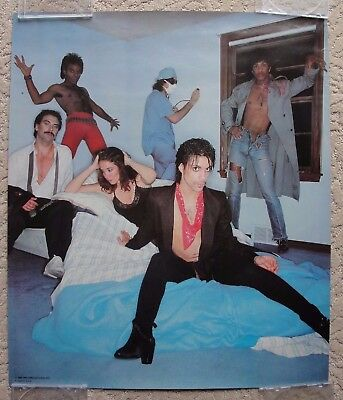 Prince EXTREMELY RARE 1980 poster sold on DIRTY MIND Tour