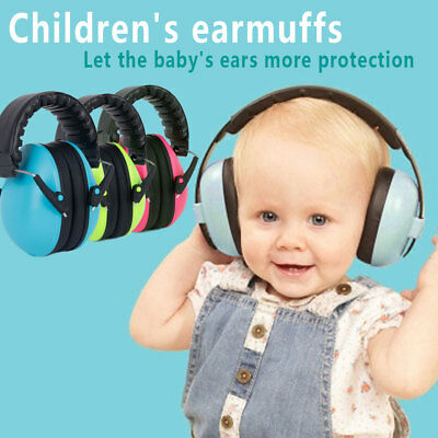 Baby Earflap Earshield Kid Earmuff New Anti-Noise Gift Cover Children'S