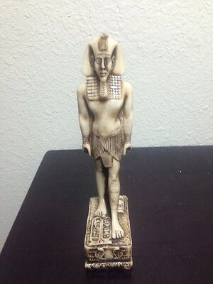 Ancient Egyptian King Tut Pharaoh Status