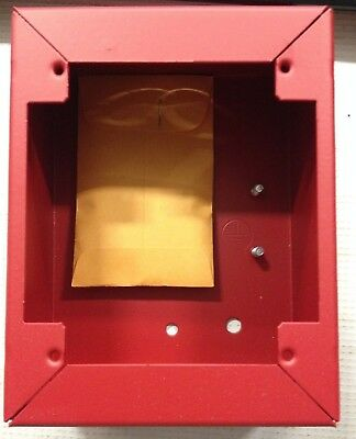 New Simplex 2975-9178 CDT Pull Station Back-box Red Fire alarm