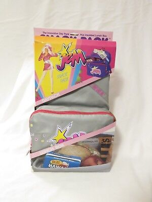 Vintage 1986 Jem and the Holograms RARE Snack Pack Lunch Box New in Box
