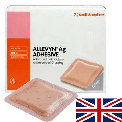 Allevyn AG Adhesive Dressings | Choose Size & Quantity | TRUSTED UK SELLER