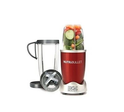 NutriBullet 8-Piece Magic Bullet Superfood Nutrition Extractor, Red