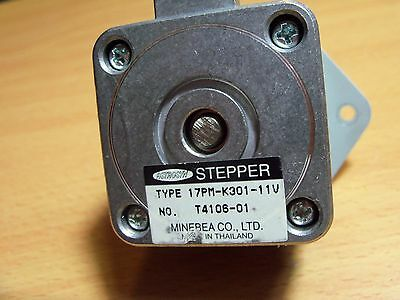 Minebea Astrosyn 17PM-K301-11V #T4106-01 stepper motor 6-pin connector