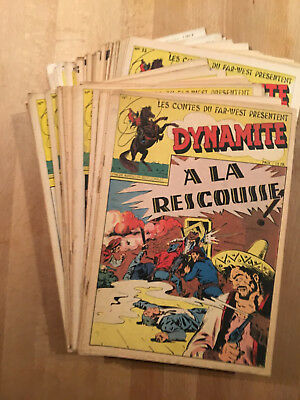 DYNAMITE - Editions ELAN - Collection complète des 62 n° - 1947/49 - TBE/NEUF