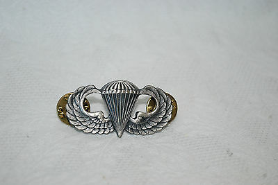 Parachute Wings Military Pilot Army Air Force Double Pin back S21 GI