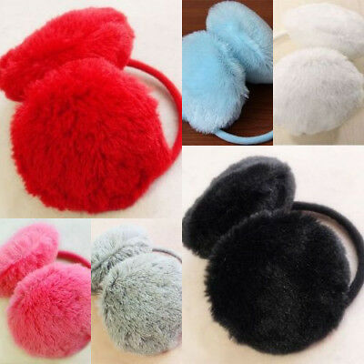 Winter Warm Thick Plush Fluffy Muffs Ear For Women