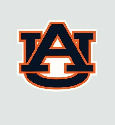 Auburn Tigers College Football Color Sports Decal Sticker-Free Shipping
