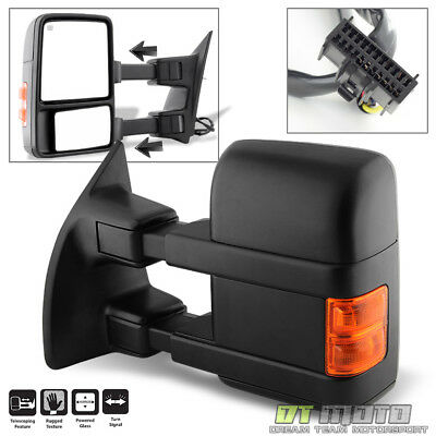 [Driver Side] 2008-2016 Ford F250 F350 Super Duty Power Heated Signal Tow Mirror