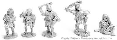 Old Glory Caesars Gallic Wars 25mm Balearic Slingers Pack MINT