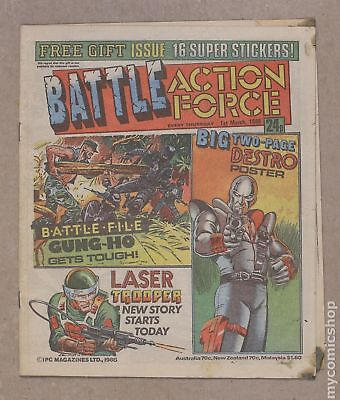 Battle Picture Weekly (UK) #860301 1986 VG 4.0