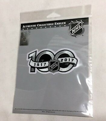a0b8d893ea2 National Hockey League NHL 100th Anniversary Centennial 100 Years Jersey  Patch