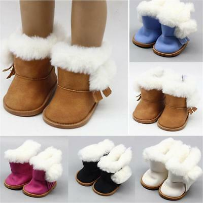 Doll Accessories Cute Fashion Snow Boots Shoes For 18 inch Girl Doll Kids Gift