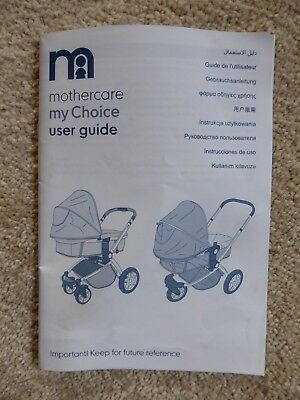 mothercare my3 pram instructions