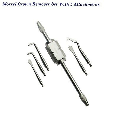 Morrel Crown Removers Set with 5 points Dental instruments  Surgical CE TK PLUS