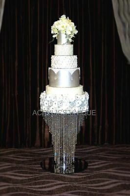 Crystal table cake stand wedding cake stand glass chandelier cake stand stage