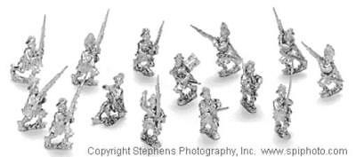 Old Glory French & Indian Wars 25mm Highlanders w/Command Pack MINT