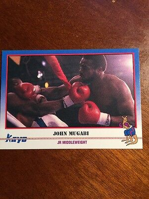 1991 Kayo Boxing John The Beast Mugabi #236 NM-MT
