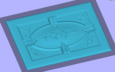 3D stl files cnc router engraving Enroute artcam cad cam Aspire Last Supper