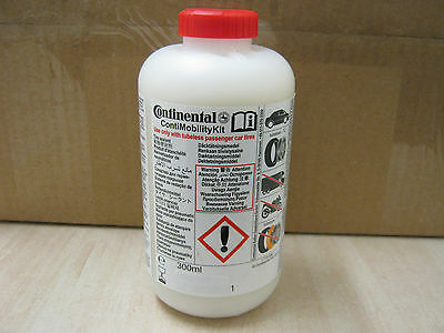 GENUINE CONTINENTAL TYRE PUNCTURE SEALANT LIQUID BOTTLE REPLACEMENT 300ml 12-19