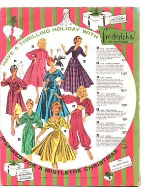 Fredricks of hollywood catalog 1960 holiday issue