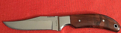 Vintage Beretta Hunting Knife With Wood Hand Made In Seki Japan~See Pictures
