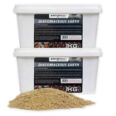 Entopest Diatomaceous Earth Powder - Natural Organic Insect Control Treatment