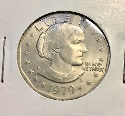 1979 P Susan B Anthony US Liberty One Dollar Coin