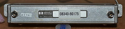 HP Agilent 08340-60175 90db Step Attenuator for 8340A/B, 3 Available GOOD