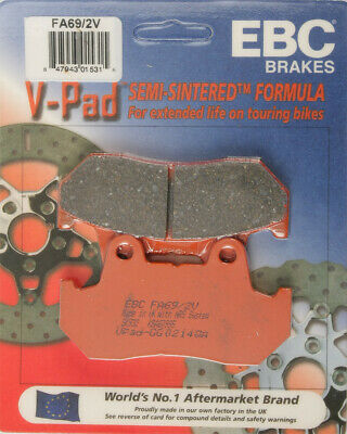 EBC Semi-Sintered V Brake Pads FA69/2V