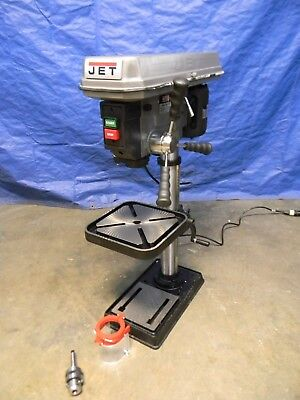"Jet Step Pulley Floor Drill Press 15"" Swing 2MT Spindle 16 Speed 3/4 HP 115V"